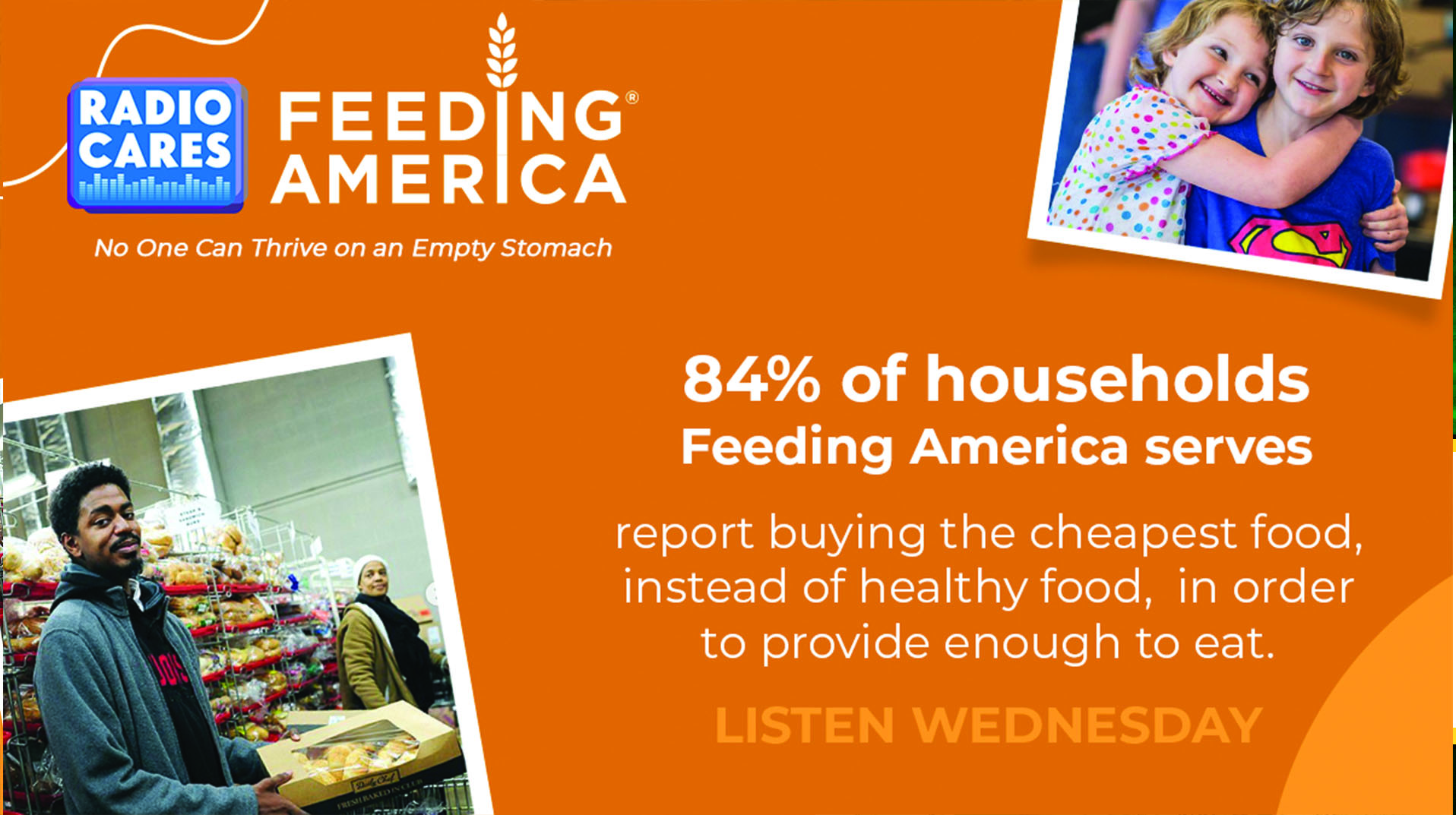 Radio Cares – Feeding America This Wednesday