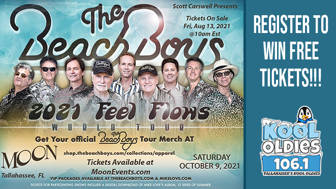 The Beach Boys – Saturday, October 9th, WIN TICKETS!