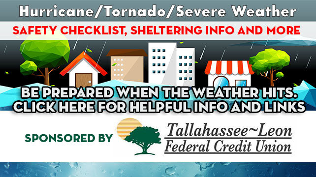 Hurricane/Tornado/Severe Weather Checklist